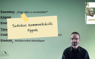 Sztoikusok #2 – kommunikációs tippek